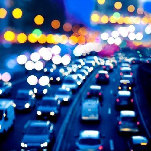 auto op snelweg aangereden