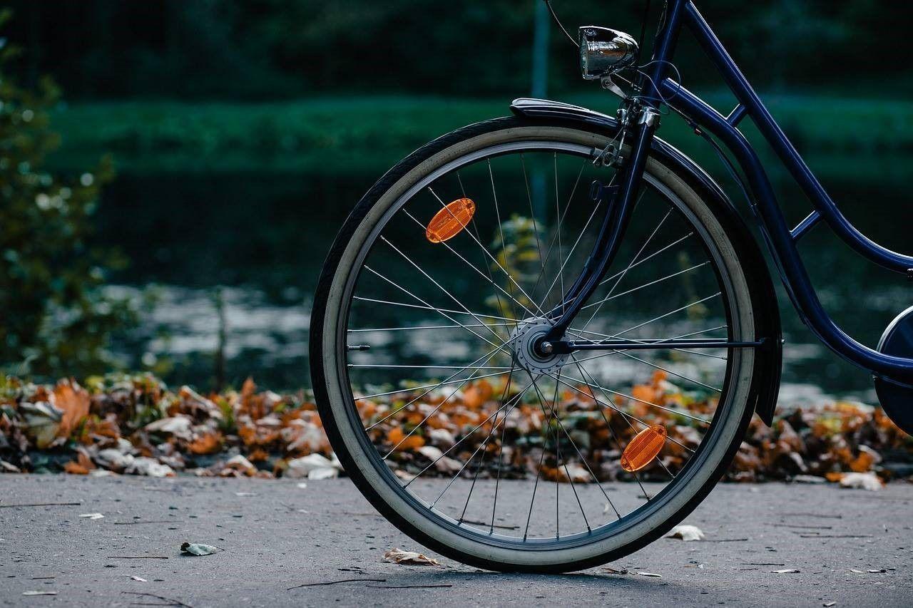 Als fietser aangereden met letsel